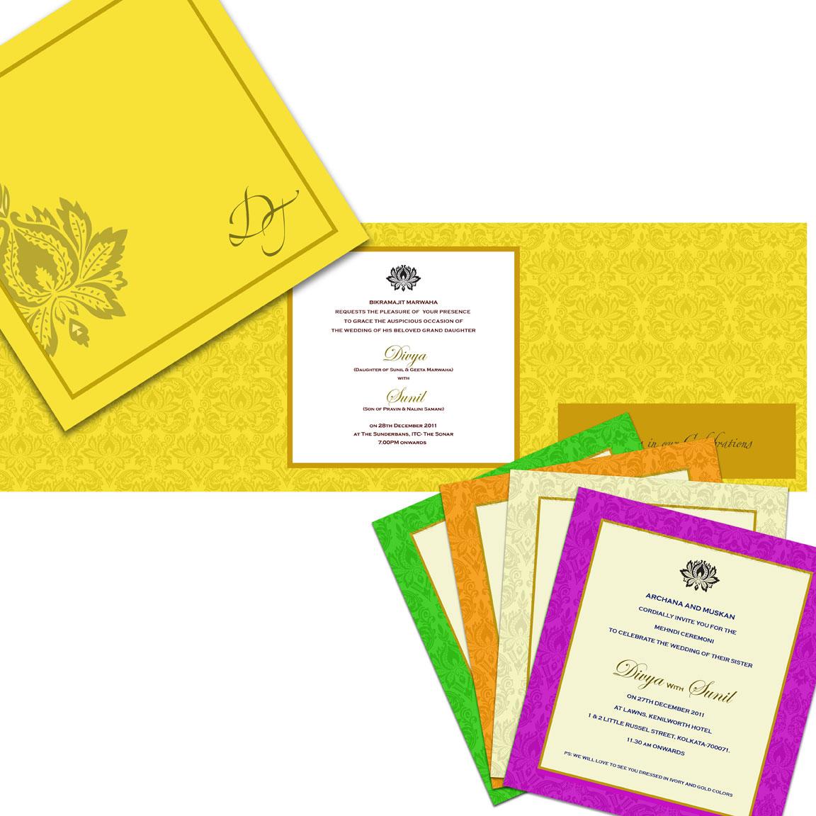 Shaadi Card Designs