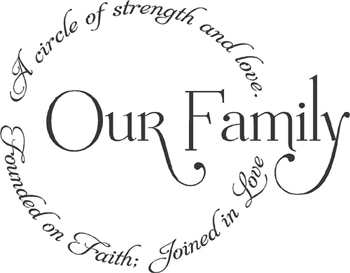 Quotes About Family Love And Strength : The Misunderstood Love of FAMILY FRESCOES