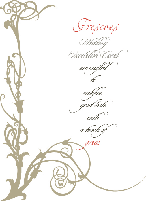 Marriage cards kolkata india frescoes laser cut indian wedding invitation cards stopboris