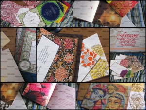 Latest Designs of Wedding Invitation Cards for Indian Hindu Marriages, events, anniversary, edc