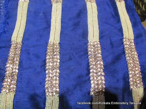Indian fashion trends updated early on this facebook page of kolkata Embroidery TAraana