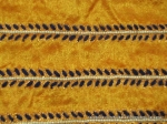 Beads, thread hand made saree lace Border to applique sew on any saree anarkali, gown, dress, skirt, salwar kameez