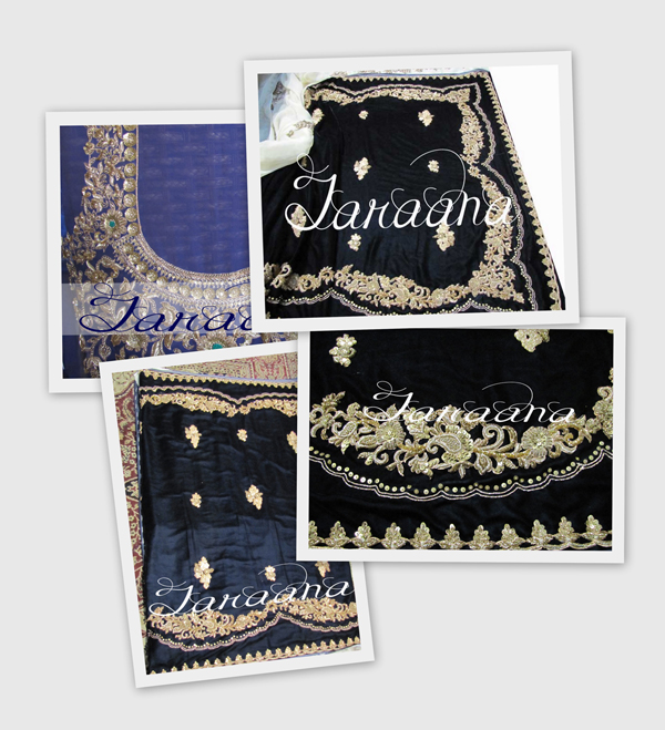 Half net half velvet saree with intricate hand-embroidery haute couture Bollywood Replica Imitation Saree in pure fabrics first copy