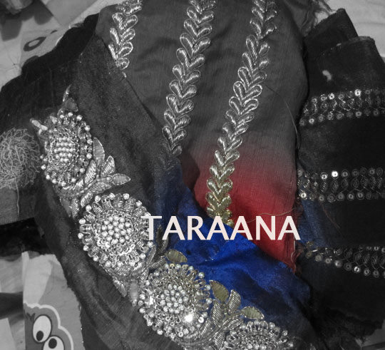 TARAANA supplies Bollywood Replicas, Saree borders, laces, trims, appliques, patches to elite high-end fashion conscious women, couturiers, designers, boutiques and stores all over the world.