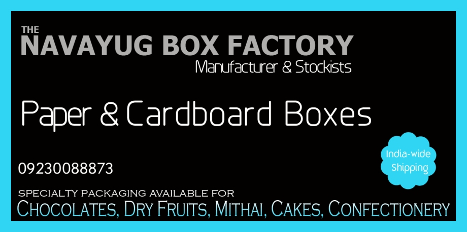 Counted among the leading Packaging Boxes Manufacturers and Suppliers, we provide these boxes in different types including Sweets Boxes, Dry Fruits Boxes and Chocolate Boxes, and Festival Sweet Boxes. Packaging Boxes offered by our company are fabricated from top quality card boards, papers, fabric, wood and fragile sheets. World-wide delivery: Mumbai, Surat, Pune, Indore, Ahmedabad, Chennai, Hyderabad, Bangalore, Jamshedpur, Lucknow, Nagpur, Kolkata in India